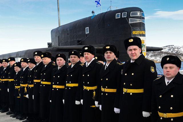 Офицеры подводники