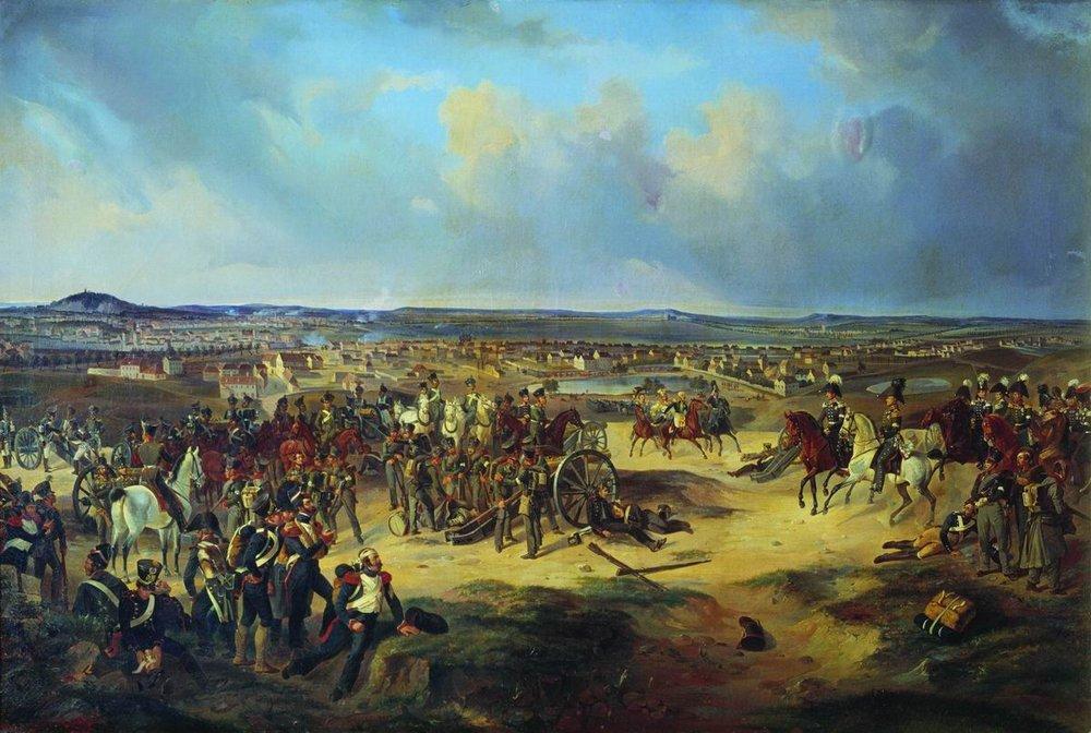 Battle_of_Paris_1814_by_Villevalde